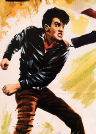 Elvis It Happened at the World's Fair Spanish Movie Poster - Close-up 2