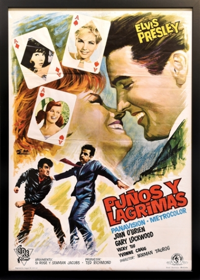 Elvis It Happened at the World's Fair Spanish Movie Poster