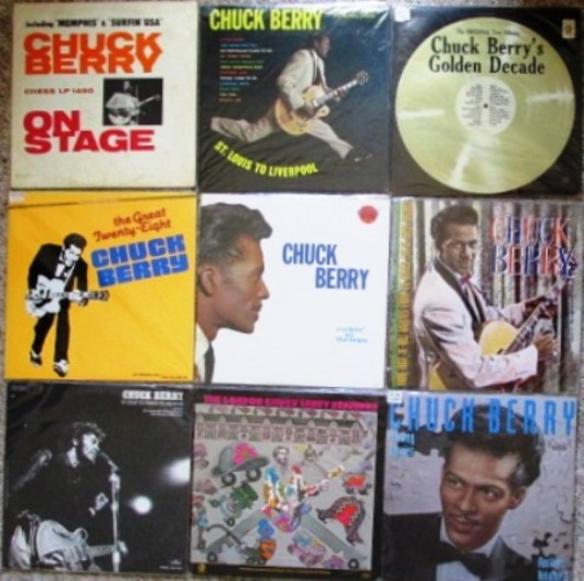 Nine Chuck Berry Albums