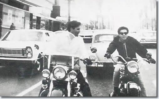 Elvis & Johnny Rivers were friends in Hollywood in the early 60´s.