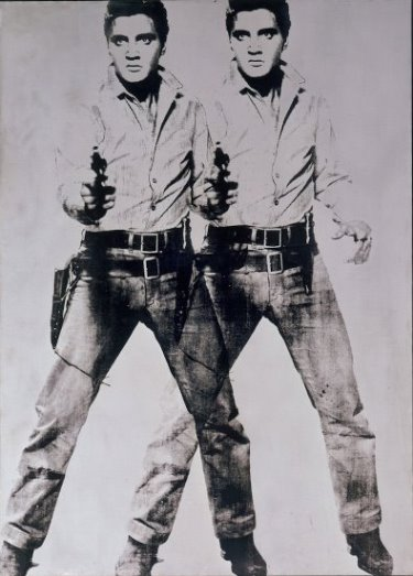 Andy Warhol -- Double Elvis