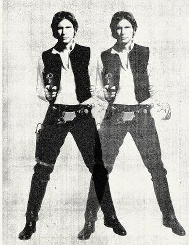 Double Han Solo - Andy Warhol