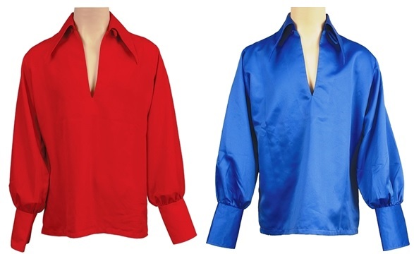 Elvis Presley's Bell Sleeved Shirts