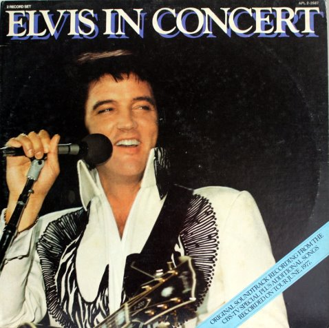 1977 Elvis in Concert double record set