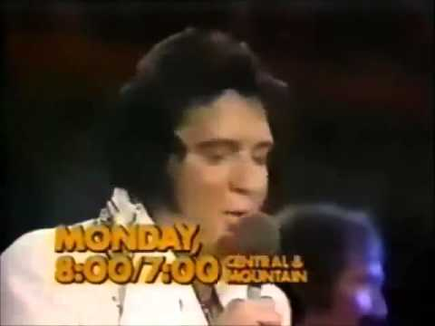 CBS advertisement for Elvis In Concert in 1977