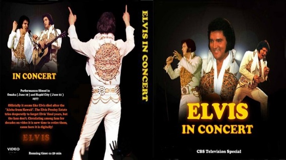 ELVIS PRESLEY IN CONCERT 1977 DVD