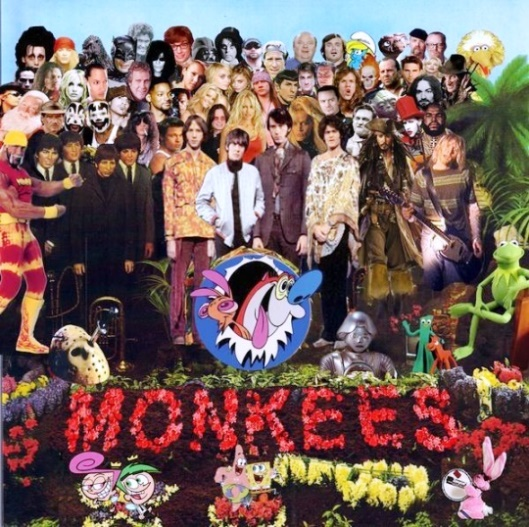 Monkees Lonely Hearts Club band