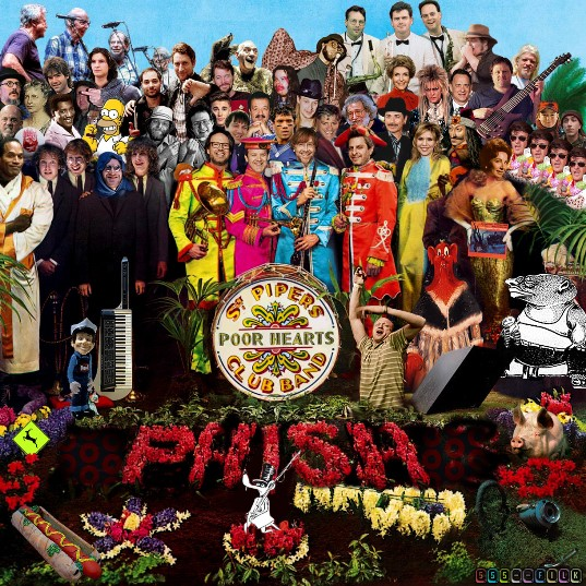 Phish Lonely hearts Club Band