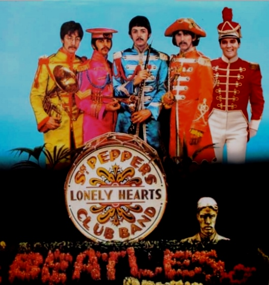 Sgt. Pepper Cover With Elvis