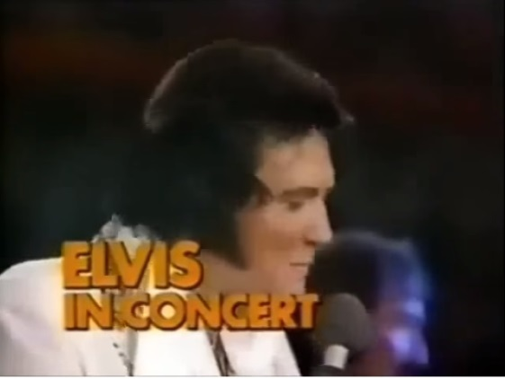 TV ad for Elvis in Concert Special