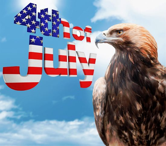4th of July - Eagle