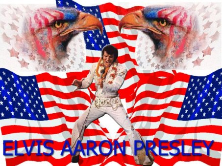 Elvis, Flag, and Eagles - 4th of July