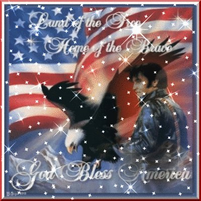 Elvis God Bless America 4th of July