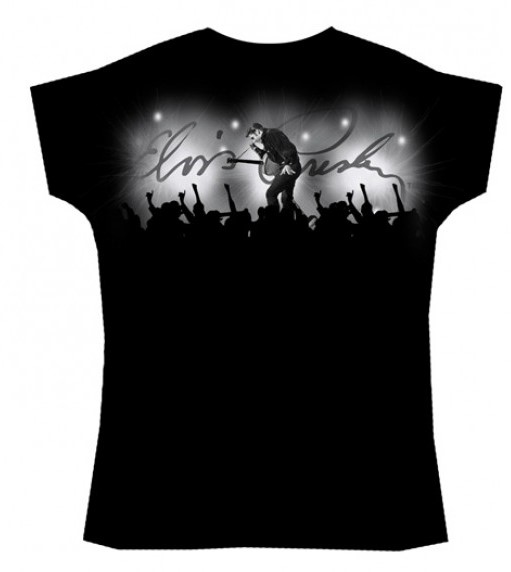 Elvis Presley T-shirt Tupelo Crowd Surf