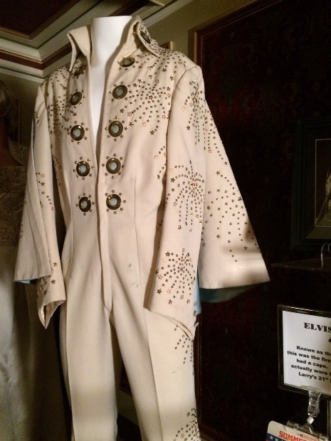 Elvis Presley's First Jumpsuit with a Cape - Front