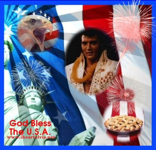 Elvis with Eagle Head - 4th of July