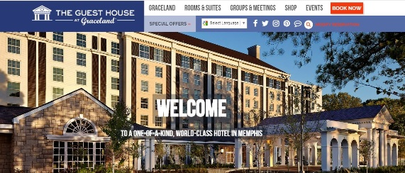 Graceland Guest House Website