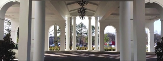 Inside Portico at Graceland Guest House