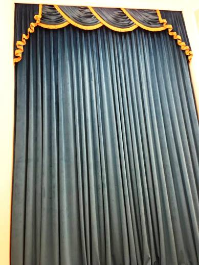 These dramatic drapes at the Guest House at Graceland are a favorite spot for selfies