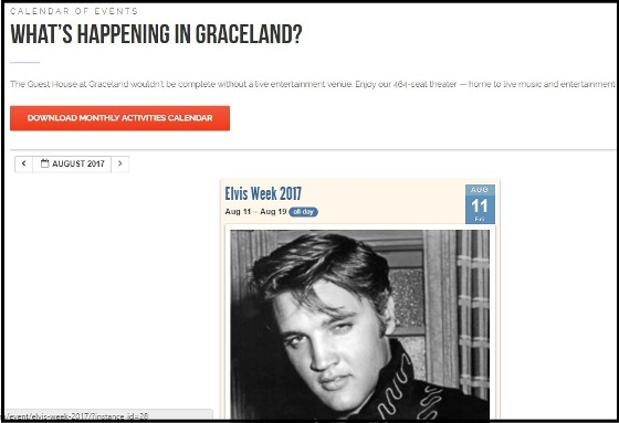 What's happening at Graceland