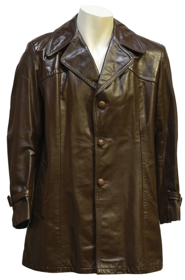 Elvis Presley's Brown Leather Jacket
