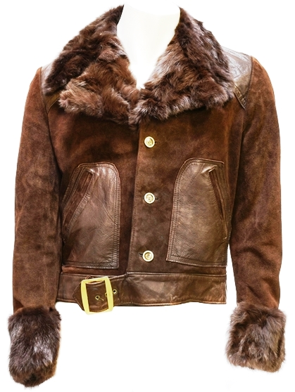 Elvis Presley's Elvis Suede and Fur-Trimmed Jacket