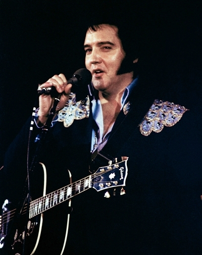 Elvis' Sleeveless Jumpsuit and Jacket - Wearing