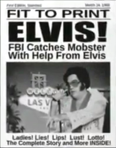 FBI Catches Mobster with Help from Elvis