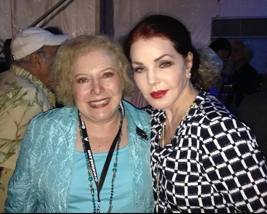 Linda Deutsch and Priscilla Presley