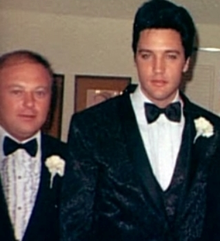 Marty Lacker and Elvis Presley