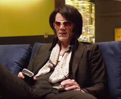Michael Shannon as Elvis in Elvis & Nixon
