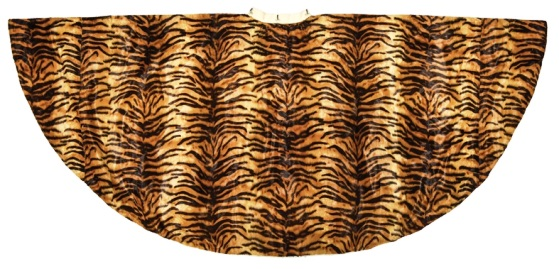 Tiger Skin Lining of Elvis' Lava Jumpsuit