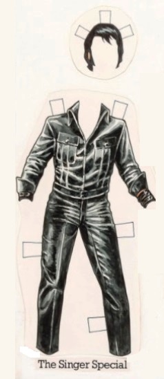 Elvis' 68 Comeback Special Paper Doll