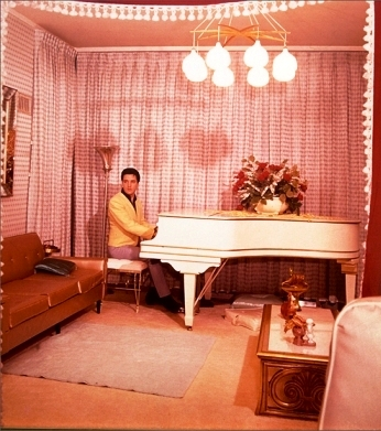Elvis Playing Knabe Piano