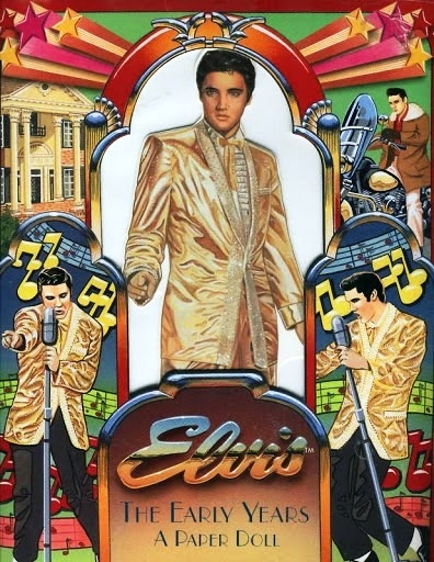 Elvis The Early Years Paperdoll Book