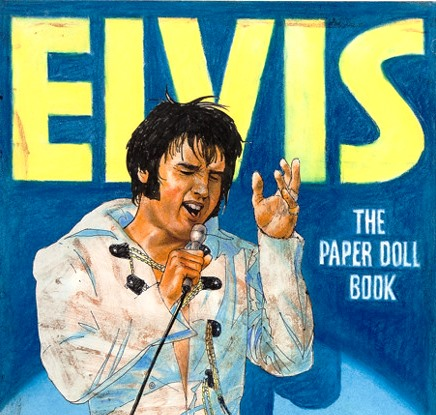 Elvis The Paper Doll Book