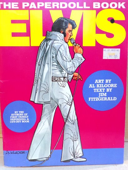 Elvis The Paperdoll Book