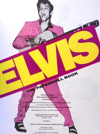 Elvis - The Paperdoll Book