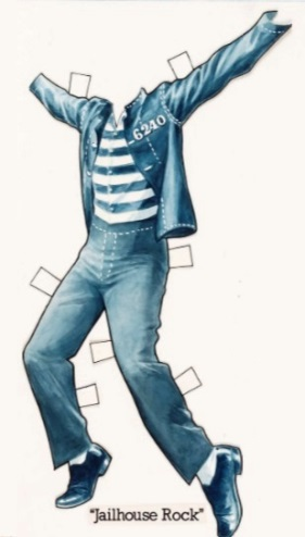 Jailhouse Rock Paper Doll