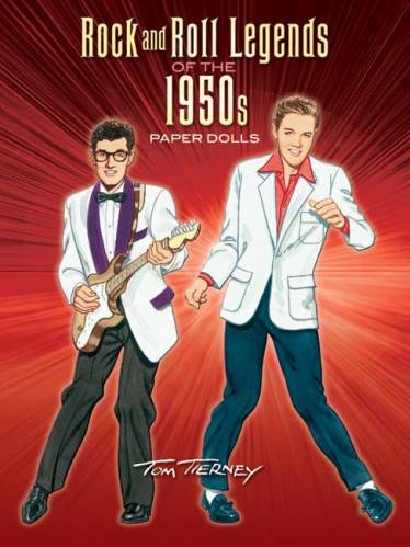 Rock and Roll Legends Paper Dolls