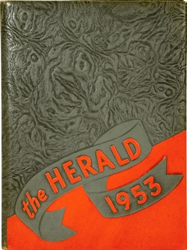 Signed 1953 Humes High School Yearbook