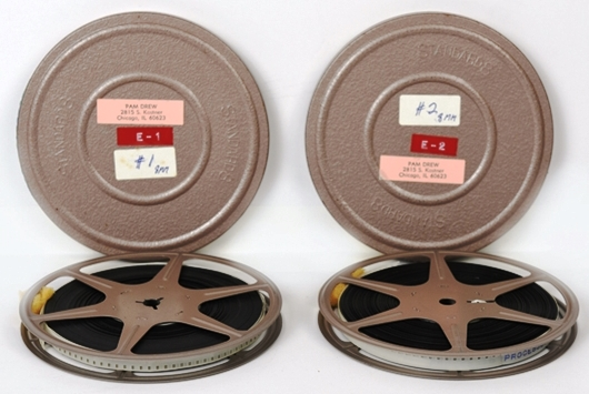 Two Reels of 8mm Film from 1959-62