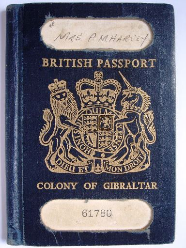 British Passport - Pauline Mary Harvey - 1963