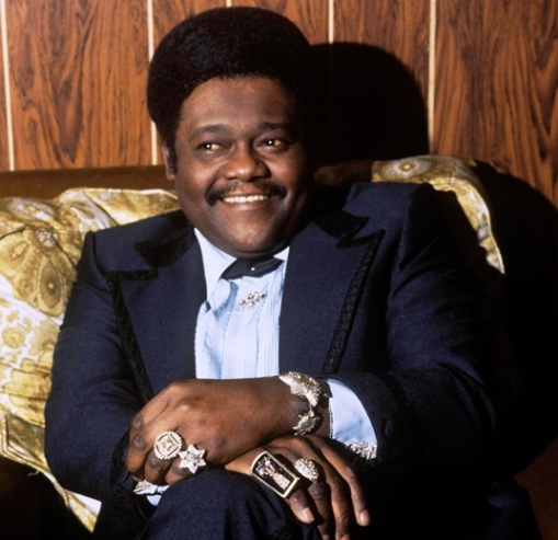 Fats Domino Wearing Lots of Rings