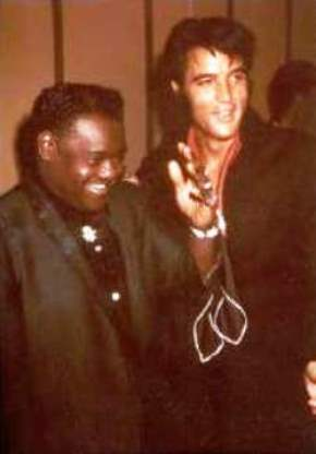 Fats Domino and Elvis in color