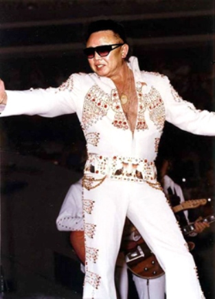 Kim Jong Il in Elvis Jumpsuit