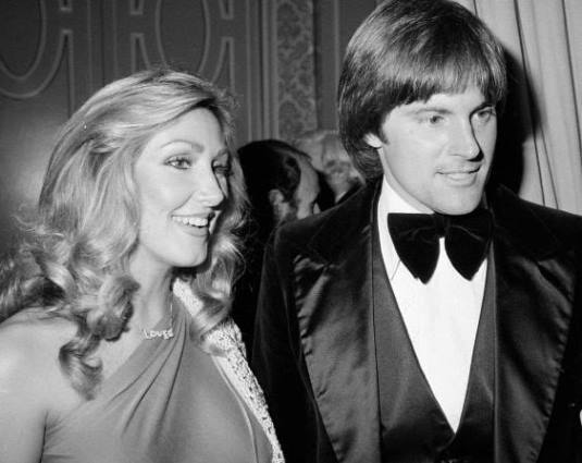 Linda Thompson and Bruce Jenner