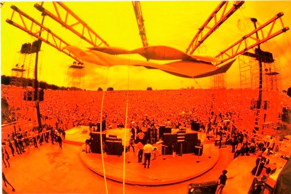 Woodstock From back of Stage