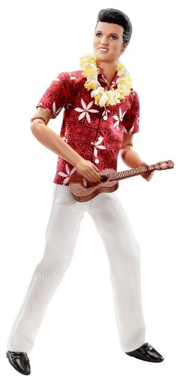 Barbie Blue Hawaii Elvis Presley Doll