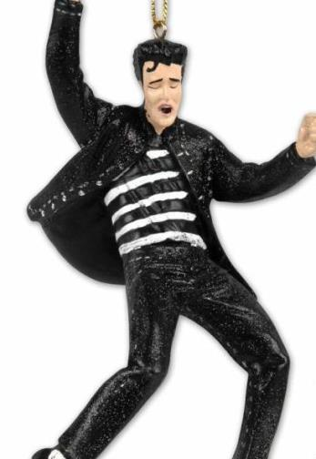 Elvis Jailhouse Rock Christmas Ornament